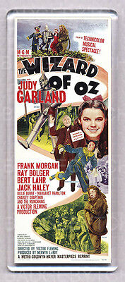THE WIZARD OF OZ - WIDE FRIDGE MAGNET Style 'B' -  Judy Garland Classic!