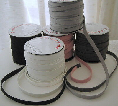 10mm x 1.5mm FLAT FAUX SUEDE LACE - Choice of five colours