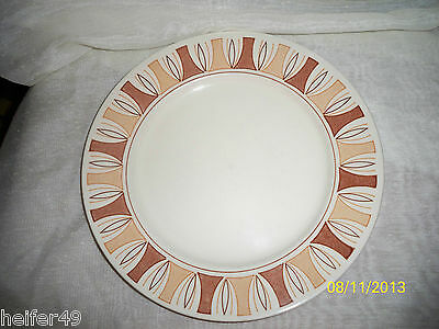 "Taylor, Smith & Taylor (TST) ""Etruscan"" Dinner Plates (3) !!!"