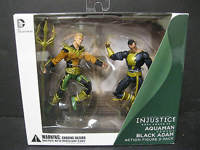 DC COLLECTIBLES Injustice: Gods Among Us Superman vs versus Nightwing Figures - $89.99 ...