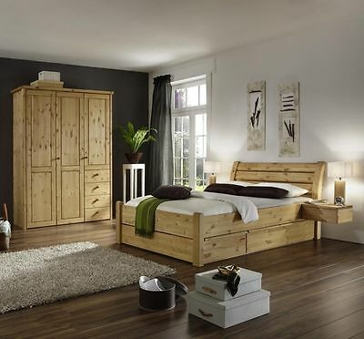 massivholz schlafzimmer komplett kernbuche palermo mit eckschrank ge lt. Black Bedroom Furniture Sets. Home Design Ideas