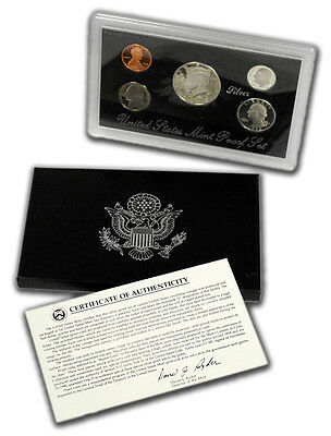 1993 United States US Mint Silver Proof Set SKU1454