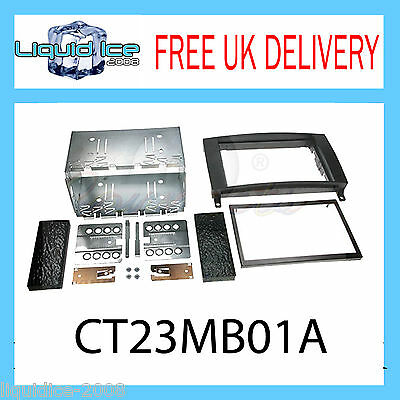 Ct23Mb01A Mercedes Benz B Class 2005 - 2011 Double Din Fascia Facia Adaptor Kit