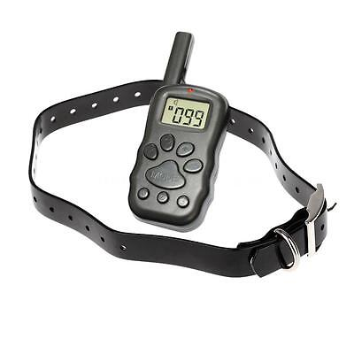 300M 100Level Waterproof Rechargeable LCD Remote Electronic Dog Training Collar