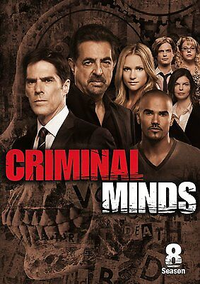 Criminal Minds: Complete Season Series 8 DVD R4 New & Sealed 6 discs