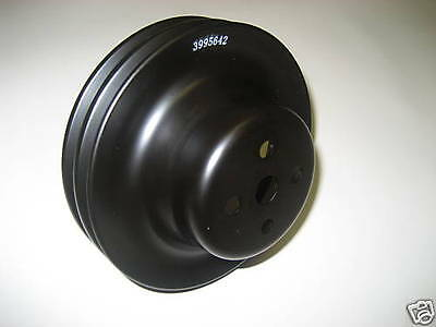 "Gm 2 Groove Water Pump Pulley Replaces Gm 3995642 Short Water Pump 6"" Pulley"