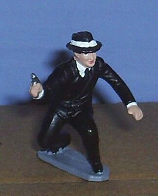 TOY SOLDIERS TIN AMERICAN 1930'S mafia GANGSTER 54mm
