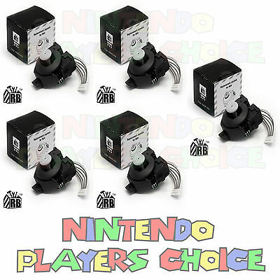 5 NEW Thumbstick Joystick Repair For Nintendo 64 Controller Replacement Sticks