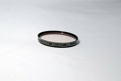 Kenko Skylight 58mm Filter used damaged coating by cleaning
