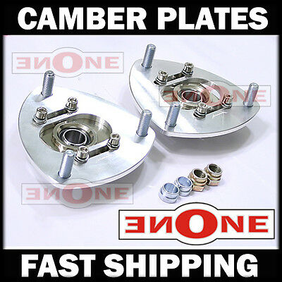 MK1 Pillowball Front Camber Plate Plates Strut Mount Civic For Coilover Kits