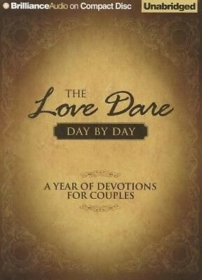 NEW The Love Dare Day by Day: A Year of Devotions for Couples by Stephen Kendric