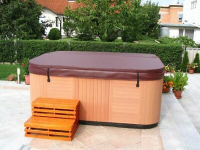 (76,75/m²) Whirlpool Abdeckung Thermoabdeckung Isolier Cover 228 x 228 cm braun