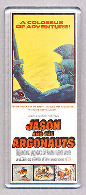 JASON AND THE ARGONAUTS movie poster WIDE FRIDGE MAGNET - HARRYHAUSEN CLASSIC!