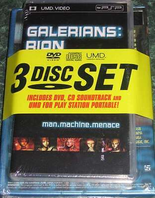 Galerians Rion Dvd Cd Soundtrack Umd For Playstation Portable