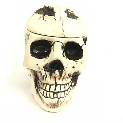 Scary Skull Cookie Jar skull with realistic and intricate detail NEW Great Gift