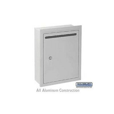 Letter Box - Standard - Recessed Mounted - Aluminum - USPS Access-MAILBOX 2245AU