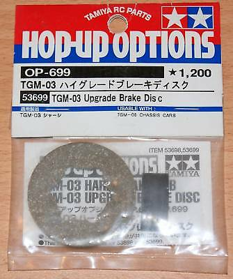 Tamiya 53699 TGM-03 Upgraded Brake Disc (TNX/TNX Pro), NIP