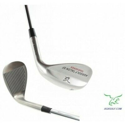 "Mens Tall (+1.5"") Right Hand 64 Degree Wedge Stainless Steel wSoft Face USA Bilt"