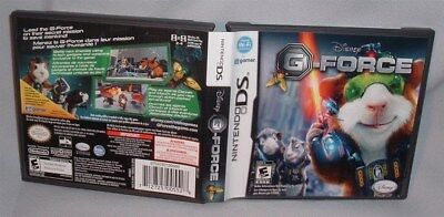 GAME NINTENDO DS G-Force COMPLETE DSi NDS lite dsi dsixl xl 3DS
