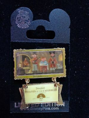 Disney Pin DLR Pirates Of the Caribbean 40th Anniversary-Pirate Quintet Le