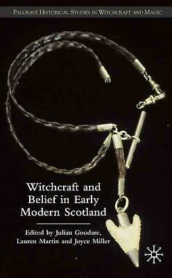 Witchcraft and Belief in Early Modern Scotland (English) Hardcover Book Free Shi
