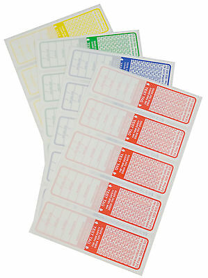 800 Test Tag Labels Test Tags  Electrical Cable