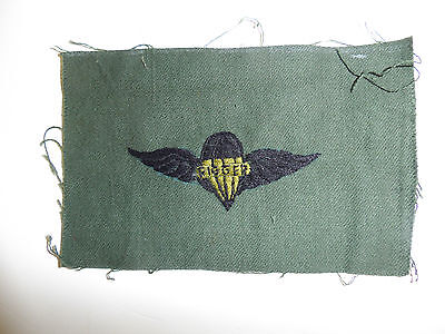 b3035 Vietnam US Army Parachute Rigger Wing local made C13A10