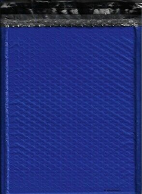100 #2 ( Blue ) Poly Bubble Mailers Envelopes Bags 8.5x12  Colors Stand Out