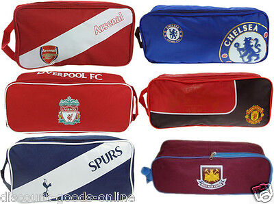 Official Licensed Boot / Shoe Bag Great Premier Or League Clubs Gift Idea