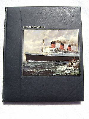 The Great Liners Book Maritime Nautical Marine (#149)