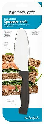 Kitchen Craft 20cm Sandwich Spreading Spreader Butter Knife