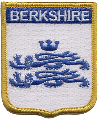 Berkshire County Flag Embroidered Patch Badge