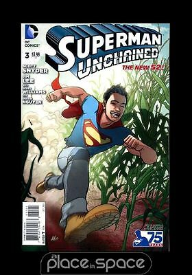 Superman Unchained # 3 - Cover C - New 52 Variant - Scott Snyder / Jim Lee