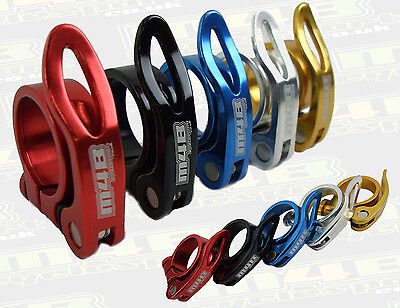 M4B CYCLESPORT QUICK RELEACE SEAT CLAMP, CYCLE, BMX , MTB , ROAD BIKE, QR  36g