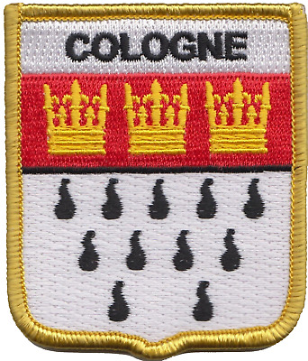 Germany Cologne Crest Shield Embroidered Patch Badge