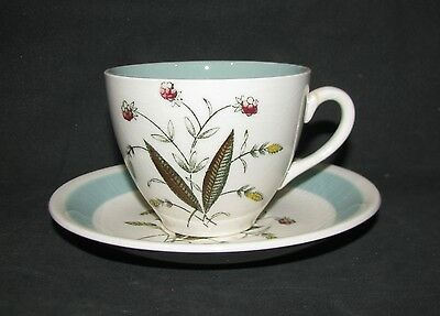Alfred Meakin  HEDGEROW  CUP & SAUCER