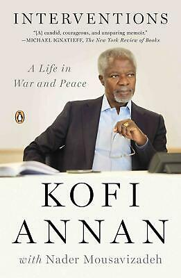 Interventions: A Life in War and Peace by Kofi Annan (English) Paperback Book Fr