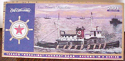 2001 Texaco Regular Edition Tugboat #2 In Series, Fresh Out Of The Case Mint Box