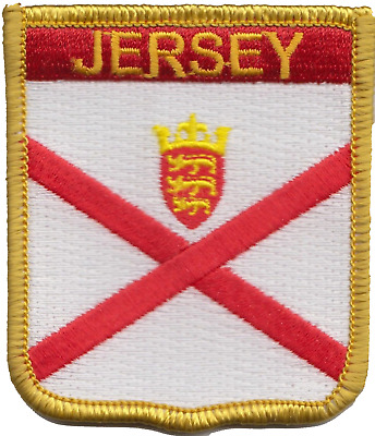 Sark Channel Islands Flag Embroidered Patch Badge Sew or Iron on