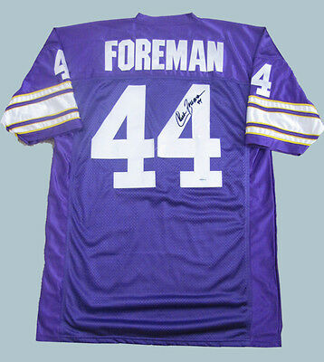 innovative design c8d4a 9ba45 CHUCK FOREMAN AUTOGRAPHED jersey MINNESOTA VIKINGS - Buy Direct and Save!!