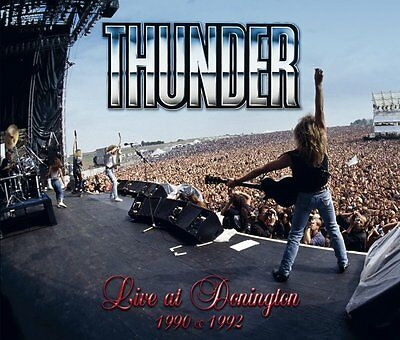 THUNDER Live at Donington BOX 2CD+1DVD NEW .cp