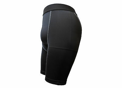 Shorts Compression Mens Black Lycra Goodstar GS-3015