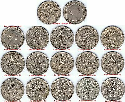 LUCKY Sixpence 1953 - 1967, Choose date. Discounts up to 80% available