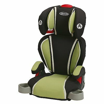 NEW Graco High Back Turbo Booster Baby Child Car Safety Seat Go Green Big Kid