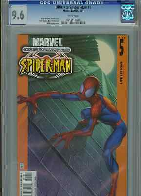 Ultimate Spider-Man #5   (First Print)   CGC 9.6  WP