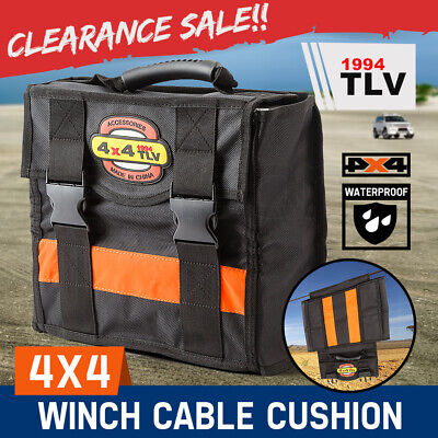 TLV Winch Cable Cushion Damper 4WD Recovery Safety Blanket 4X4 Off-Road Dampener