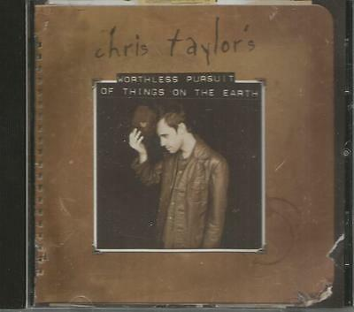 Chris Taylor's Worthless Pursuit of Things On The Earth CD 2000 Rhythm House CCM
