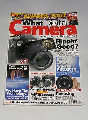 What Digital Camera Awards 2007 Issue 130
