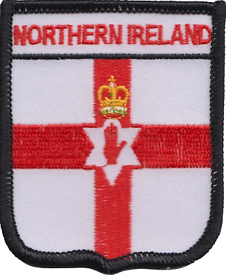 Northern Ireland Flag Embroidered Patch Badge