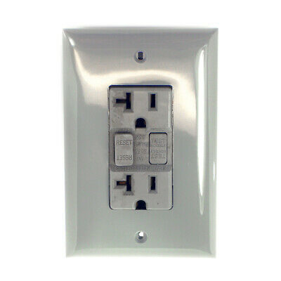 Hubbell Hospital Grade Receptacle GF8300GY